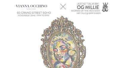Occhino Sport Soho pop up & Art Exhibition tickets