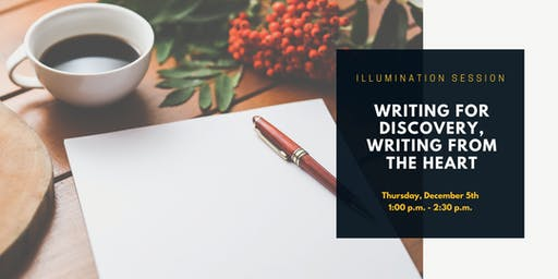 MEMBERS ONLY | Illumination Session: Writing for Discovery