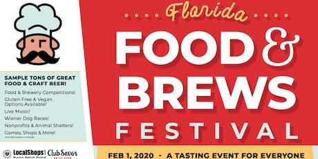 Florida Food & Brews Festival 2020 tickets