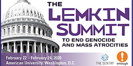 Discount Registration: 2020 Lemkin Summit to End Genocide & Mass Atrocities tickets