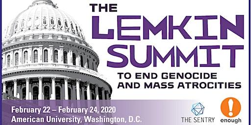 Registration: 2020 Lemkin Summit to End Genocide & Mass Atrocities