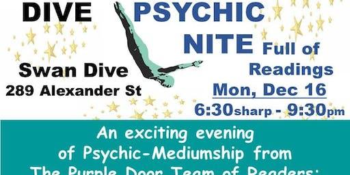 The Purple Door presents: Psychic Nite at The Dive