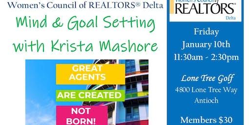 Mind & Goal Setting w/ Krista Mashore