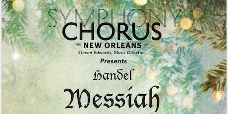 Handel Messiah 2019 - Symphony Chorus 2019 at UNO tickets