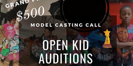 Kid Modeling Auditions tickets