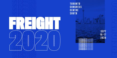 Freight2020 tickets