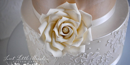 Easy Sugar Roses w/Buds & Leaves at Fran's Cake and Candy Supplies