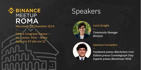 Binance Meetup | Roma biglietti