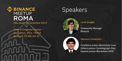 Binance Meetup | Roma