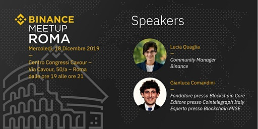 Binance Meetup | Roma