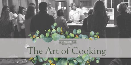 March's The Art of Cooking tickets