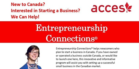 Entrepreneurship Connections Information Session - VANCOUVER tickets