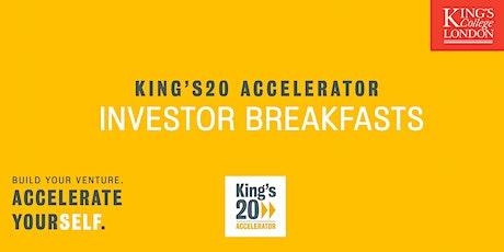 TECH Investor Breakfast @ King's20 Accelerator tickets