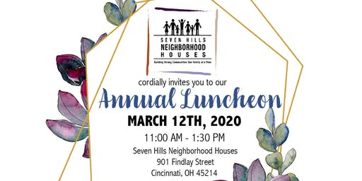 Seven Hills Neighborhood Houses Annual Luncheon
