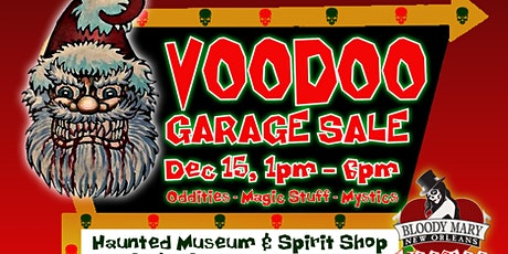 Haunted Holiday White Elephant Voodoo Garage Sale & Haunted Items Contest! tickets
