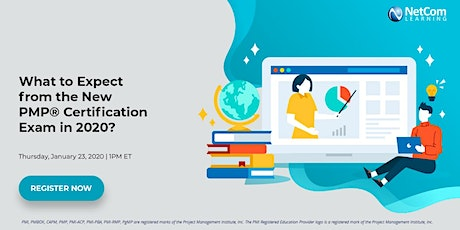 Webinar - What to Expect from the New PMP® Certification Exam in 2020 tickets