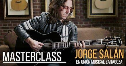 Masterclass gratuita con Jorge Salán, UME Zaragoza entradas