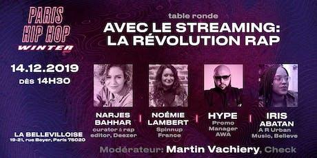 Avec le streaming : la révolution Rap tickets
