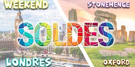Week-end exceptionnel à Londres (soldes) + Stonehenge & Oxford tickets