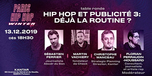 Hip-Hop et Publicité 3 : déjà la routine ?