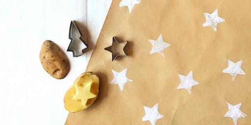 """Laboratorio per bambini """"Dipingi la tua carta regalo"""" con @stellabellomo"""