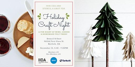 IIDA Hampton Roads Holiday Craft Night