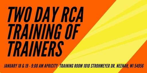 2 Day Recovery Coach Academy TOT Jan 2020