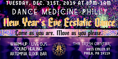 New Years Eve ecstatic dance! tickets