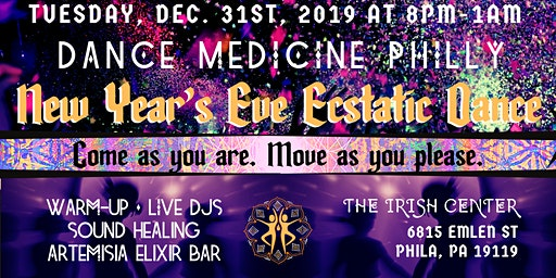 New Years Eve ecstatic dance!