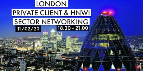 London Private Client & HNWI Sector Networking tickets
