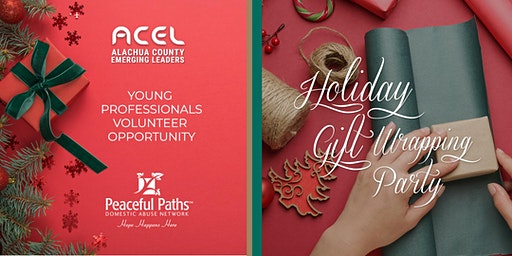 Volunteer Opportunity: ACEL Holiday Gift Wrapping for Peaceful Paths