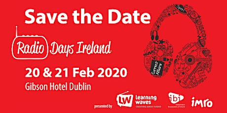 Radio Days Ireland 2020  tickets