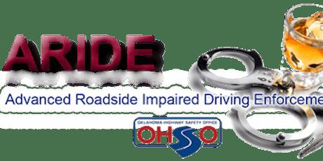 Advanced Roadside Impaired Driving Enforcement (ARIDE)04.09.20 Pawhuska, OK tickets