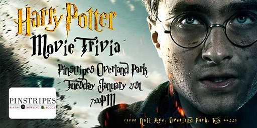 Harry Potter Movies Trivia at Pinstripes Overland Park