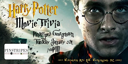 Harry Potter Movies Trivia at Pinstripes Georgetown