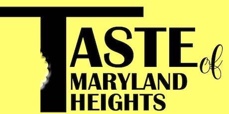 Taste of Maryland Heights 2020 tickets