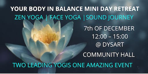 Your Body in Balance Mini Day Retreat Tour