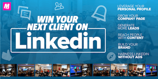 Win your next client on LinkedIn NOTTINGHAM Grow your business on LinkedIn