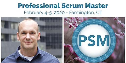 Scrum.org Professional Scrum Master Training   Farmington, CT   Feb 4-5