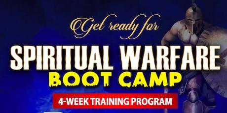 Spiritual Warfare Boot Camp 2020 tickets