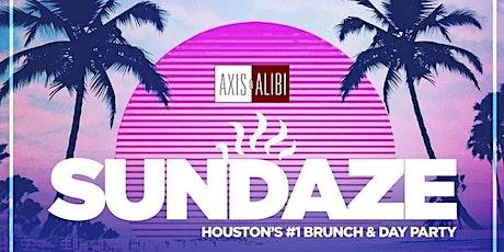 SUNDAZE @ AXIS & ALIBI (W/XCLUSIVEPROMO) tickets