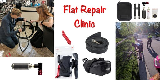 Bicycle Flat Repair Clinc