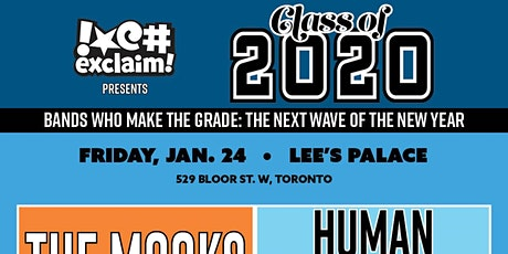 Class of 2020/TO#5: The Mooks, Human Magic, Grizzly Coast. Portland TV tickets