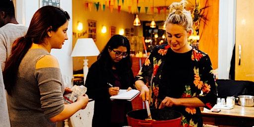 Pakistani cookery class with Atiqa in Bristol (Vegetarian)