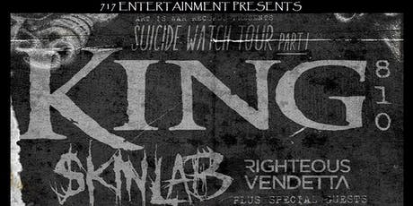 KING 810 w/ Skinlab tickets