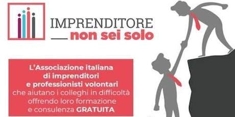 L'associazione no profit che aiuta gli Imprenditori in difficoltà a Verona biglietti
