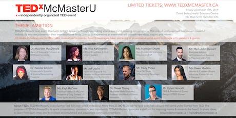 TEDxMcMasterU tickets