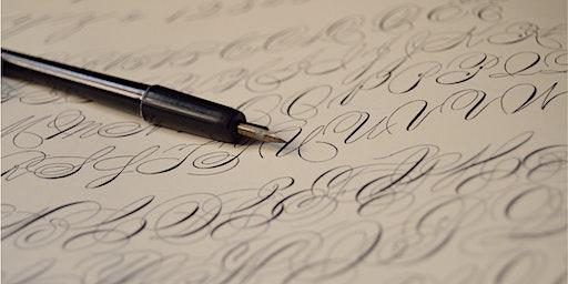 Winter Art Workshop Series: Calligraphy Basics