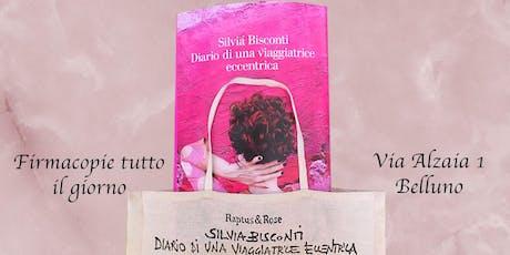"""PRESENTAZIONE LIBRO """"DIARIO DI UNA VIAGGIATRICE ECCENTRICA"""" DI SILVIA BISCONTI biglietti"""