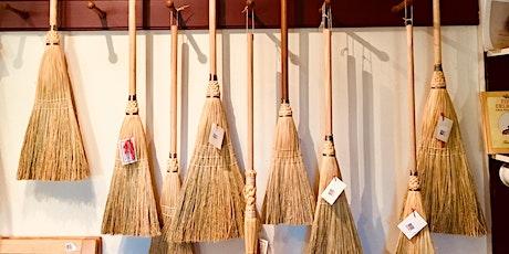 Broom Maker, Crafting a Gift Broom  tickets
